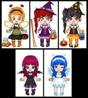 Halloween Dress Up Baby by tyrblue