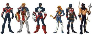 National Corp of Marvel by CAPTAIN-AMAZING-17