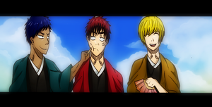 Kuroko No Basuke - The three Amigos(Not really) by fuckettai