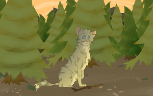 Jayfeather and his Stick by Sumijesse