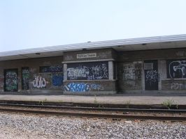 04 abandoned train station by bernache-solitaire