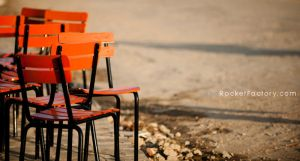 Unused chairs by frankrizzo