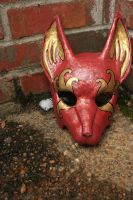 Festival Fox Mask copper by nondecaf