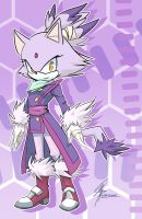 Blaze the Cat by Chingilin