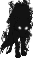 .:Hellhounds -- Common Form:. by HomestuckObsessed