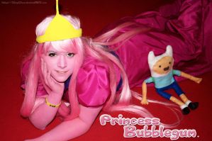 Princess Bubblegum - Adventure Time by DinyChan