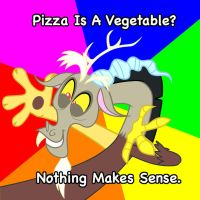 Discord Meme - Pizza is a Vegetable by glitch452
