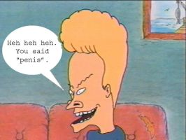 Beavis by DarthEd