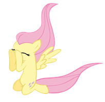 Just Fluttershy being Fluttershy by megacody2