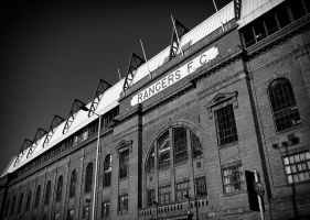 Main Stand I, Ibrox Stadium by davidjearly