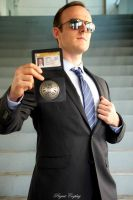 Agent Coulson Wondercon 2015 by jwave001