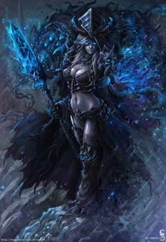 Lich Queen Jaina by GothmarySkold