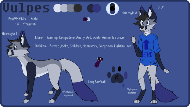 Vulpes Ref- New official by VulpesCreations