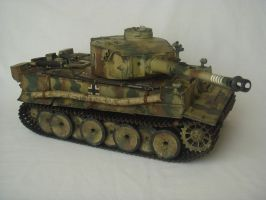 Tiger 1 Heavy Tank right profile by Reaver-8-0-8-0-8