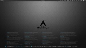 ArchLinux RSS News Conky by iviac