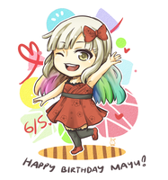 Happy Birthday MAYU!! by usarei