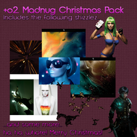 Madnug's Christmas Pack by Gundam4