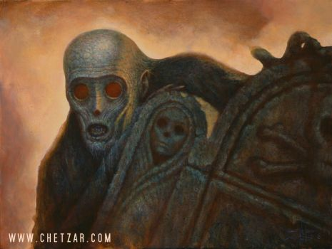 Ghoul by chetzar