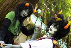 Homestuck || Dance by serkets