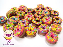 donas con chispitas by KPcharms