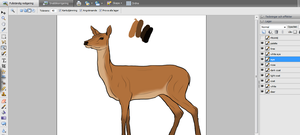 W.I.P. Deer by inaeriksson