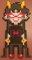 Meenah Peixes Perler by Blackshadowbutterfly