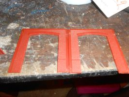 Gluing Two HO scale DPM building sections together by OceanRailroader