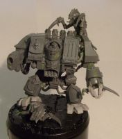 Grey Knights Dreadnought vs Tyranids unpainted by DarkLostSoul86