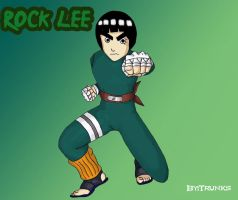 Rock Lee by Trunks777