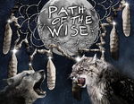 The Path of the Wise - Book Cover/Ad by katdesignstudio