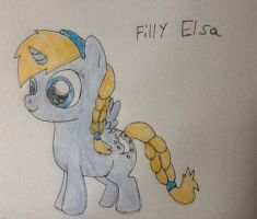 Filly Elsa  by WolfSpiritClan