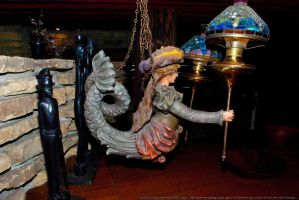 HotR : Mermaid Lamp Holder 05 by taeliac-stock