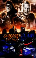 WWE Summer Slam 2015 Poster by JoKeRWord