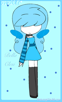 (gift)-----bella the water fairy clesi by blueiceegirlart