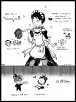 [APH] Spain the Steampunk Maid by darkcreamz95