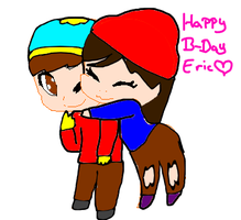 Happy (belated) B-Day Eric by Barry-Rose