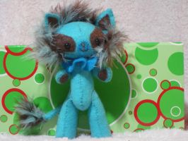 Bongo the Blue Lion by AmyCook