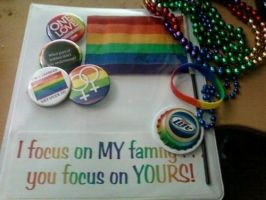 Pride stuff I bought by TimelessReference
