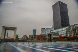 La Defense Paris by Aneede