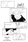 DBZ - Comic: Random Preview - Luck 3 Page 10 by RedViolett