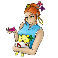 HPM: Origami with Kenz and Winnie by DasherDoodle