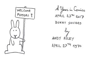 April 27th - Bunny Suicides by kanyiko