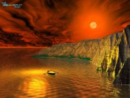 red_sun by equilibrium3e