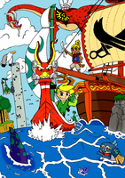 The Wind Waker - Colour by Sour-Rutabaga