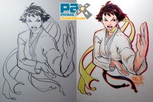 PAX2014 - Makoto of Street Fighter by theCHAMBA
