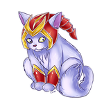Shyvana the cat by ChibiNeo