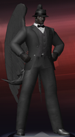 Icon/CoH Costume Concept - Pegasus Discord Whooves by mattwo