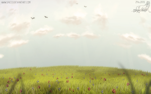 Random meadow by Saiccu
