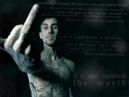 Travis Barker wp by elvareth