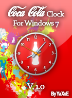 Coca Cola Clock v.1.0 by yaxxe